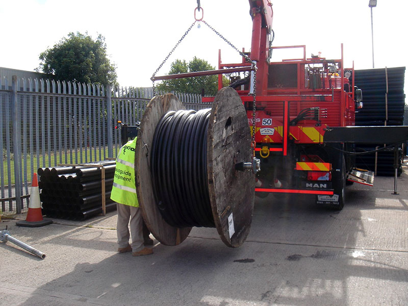 Cable Drum Handler | Autoguide Equipment