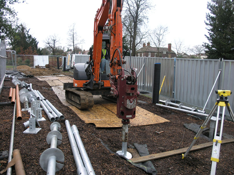 screw piles vs concrete