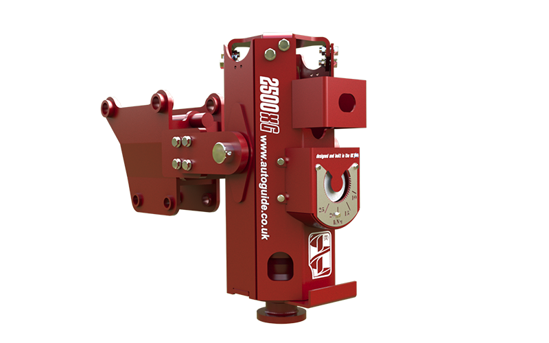 2500X with Gimbal bracket ideal for 89R Screw Piles