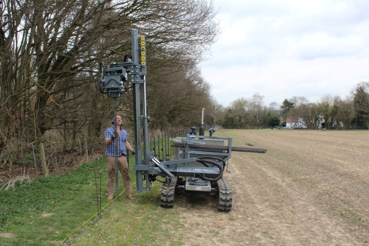 fencing machine for tractor